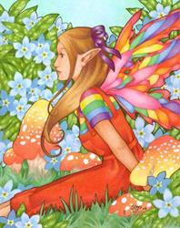 Art: Summer Daydreams by Artist Carmen Medlin