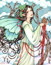 Art: Winter Offering by Artist Carmen Medlin