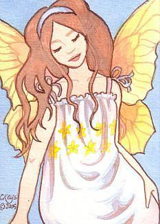 Art: Summerwings ACEO by Artist Carmen Medlin