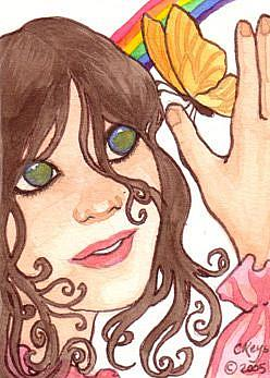 Art: All Is New Again ACEO by Artist Carmen Medlin
