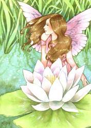 Art: Lily Anne by Artist Carmen Medlin
