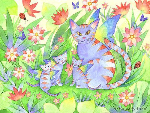 Art: Jungle Cats by Artist Carmen Medlin