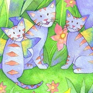 Detail Image for art Jungle Cats