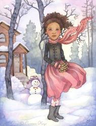 Art: Snow Day by Artist Carmen Medlin