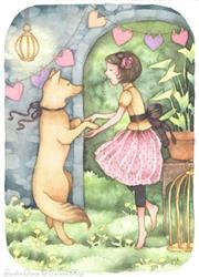 Art: Garden Dance by Artist Carmen Medlin