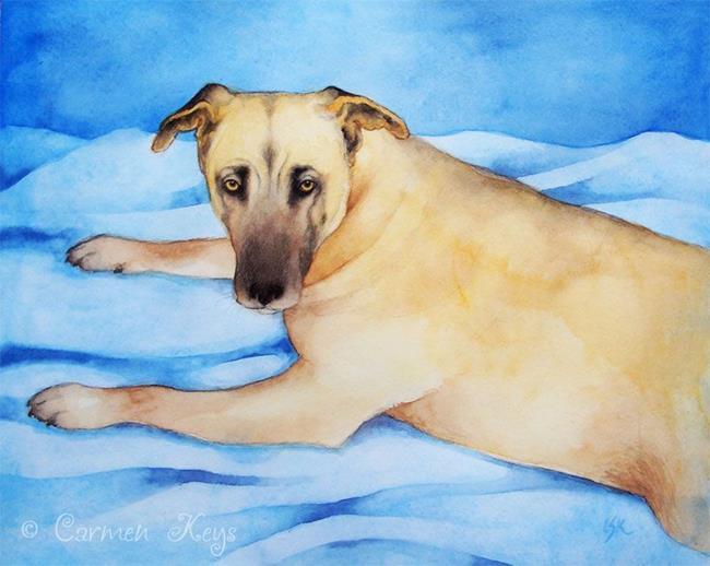 Art: Belle by Artist Carmen Medlin