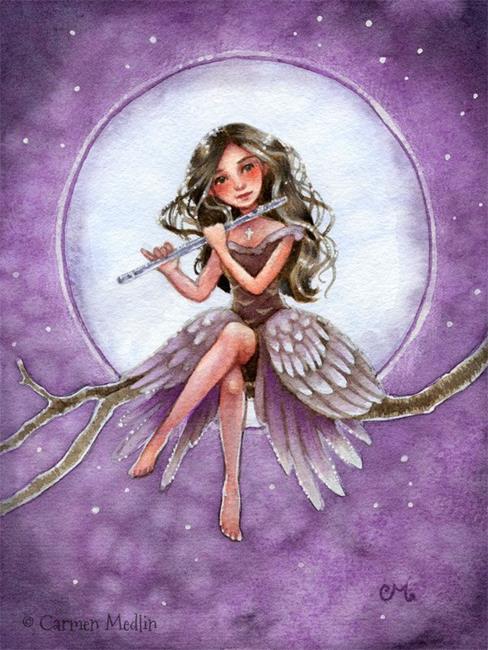 Art: Silver Symphony by Artist Carmen Medlin