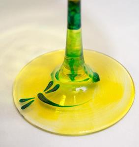 Detail Image for art Lemon Lime Red Wine Glass #5