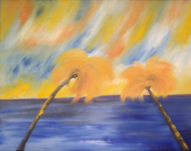 Art: TEQUILA SUNRISE by Artist The Bridges Gallery