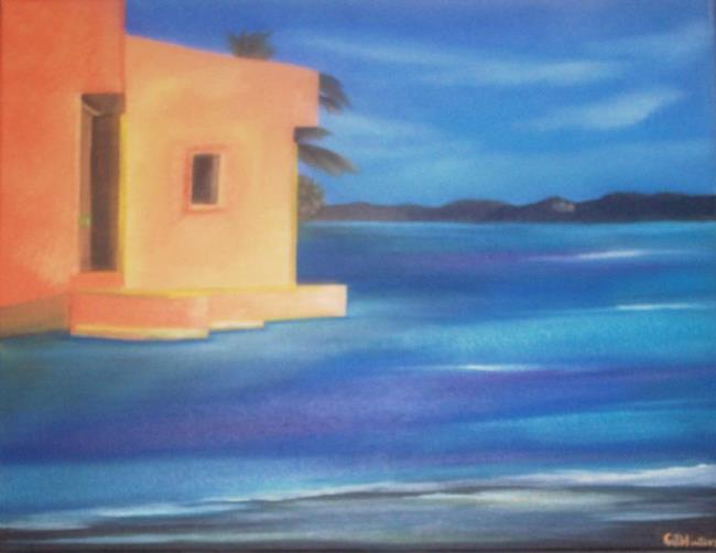 Art: OCEAN HACIENDA by Artist CJs Soul Studio