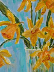 Detail Image for art Daffodils-sold