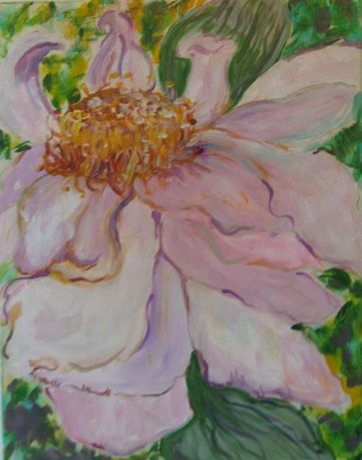 Art: Lotus, SOLD by Artist Delilah Smith