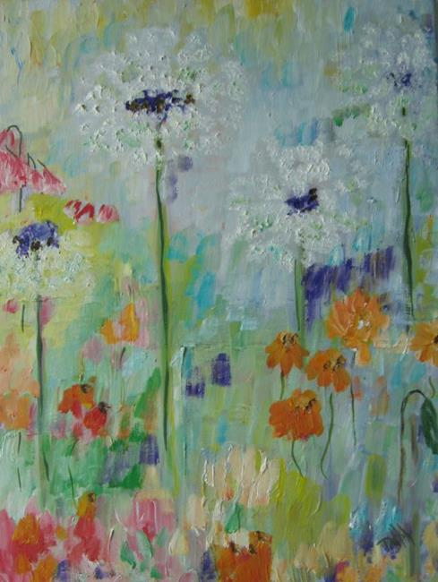 Art: Gone to Seed,Sold by Artist Delilah Smith
