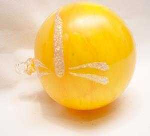 Detail Image for art 2012 Dragonfly Ball Yellow Marble # 7 of 24