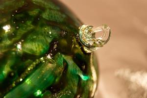Detail Image for art #13 Deep Green Dragonfly Ball 2011