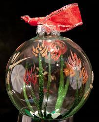 Art: 2010 Dragonfly Ball - 37 -Warm by Artist Rebecca M Ronesi-Gutierrez