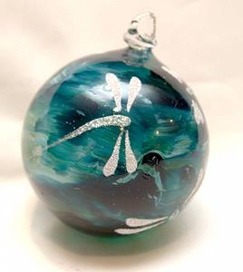 Detail Image for art 2012 Dragonfly Ball Aqua Marble #4 of 24