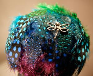 Detail Image for art #1 Cool Feathers Dragonfly Ball 2011