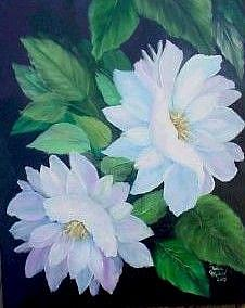 Art: Mother's Flowers//SOLD by Artist Barbara Haviland
