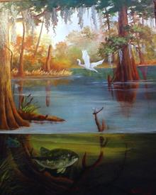 What Is Lurking Beneath In The Bayou - Barbara Haviland