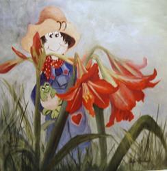 Art: Barbsgarden  SOLD by Artist Barbara Haviland