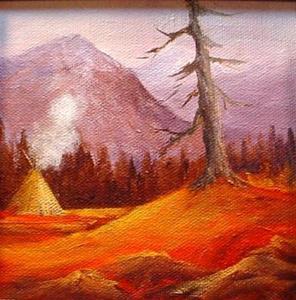 Detail Image for art Autumn  A Landscape  sold