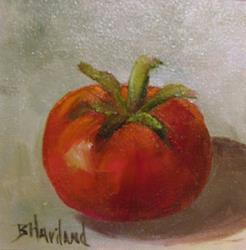 Art: Red Tomato/SOLD by Artist Barbara Haviland