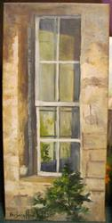 Art: A Window View   SOLD by Artist Barbara Haviland