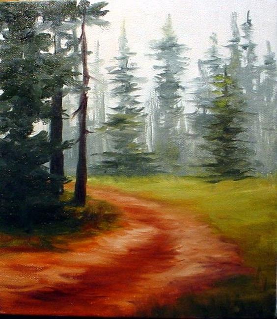 Art: Country Road by Artist Barbara Haviland