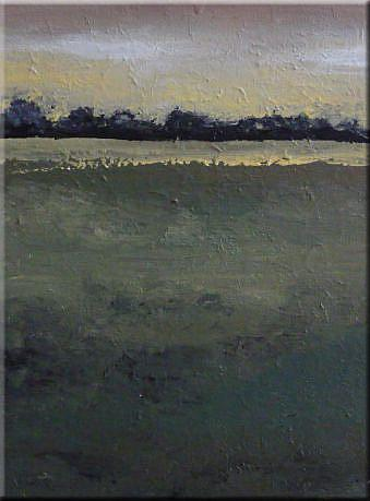 Art: ORIGINAL abstract LANDSCAPE PAINTING MODERN Art     -    SOLD by Artist Nataera