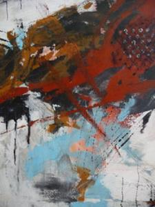 Detail Image for art ORIGINAL abstract PAINTING MODERN Art - SOLD