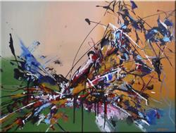 Art: ORIGINAL ABSTRACT PAINTING , MODERN ART      -      SOLD  by Artist Nataera