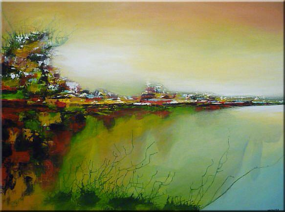 Art: ORIGINAL LANDSCAPE PAINTING   -   SOLD by Artist Nataera
