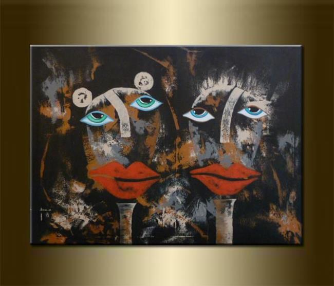 Art: ORIGINAL FIGURATIVE PAINTING - SOLD by Artist Nataera