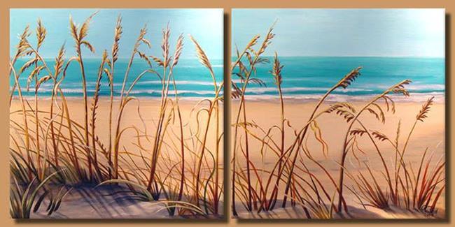Art: Sea Grass by Artist Rita C. Ford