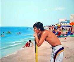 Art: Waitin' to Boogie by Artist Rita C. Ford