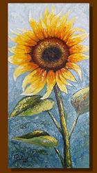 Art: Sunflower #3 by Artist Rita C. Ford