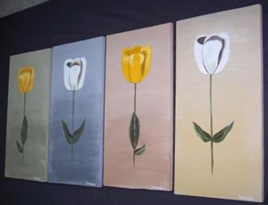 Detail Image for art FLOATING TULIPS