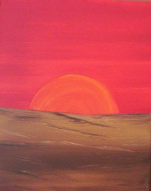 Art: SUNBURST by Artist Christa Jule Art