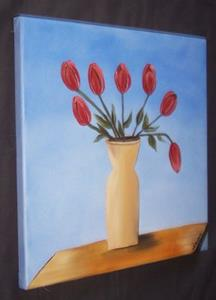 Detail Image for art TUSCAN SKY TULIPS