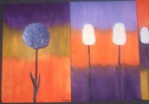 Detail Image for art REMINISCING - FLOWERS