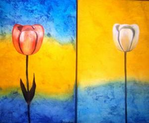 Detail Image for art GRAVITY - TULIPS