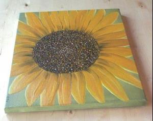 Detail Image for art HEAVENLY SUNFLOWER