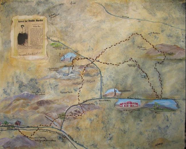 Art: Willie Boy's Trail by Artist Shirley James