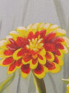 Detail Image for art <b>Grandma's Zinnias