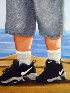 Detail Image for art <b>Blues Brothers at the Beach