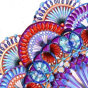 Detail Image for art The Patriot Mandala