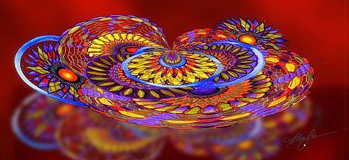 Art: Tilt a Whirl by Artist Alma Lee