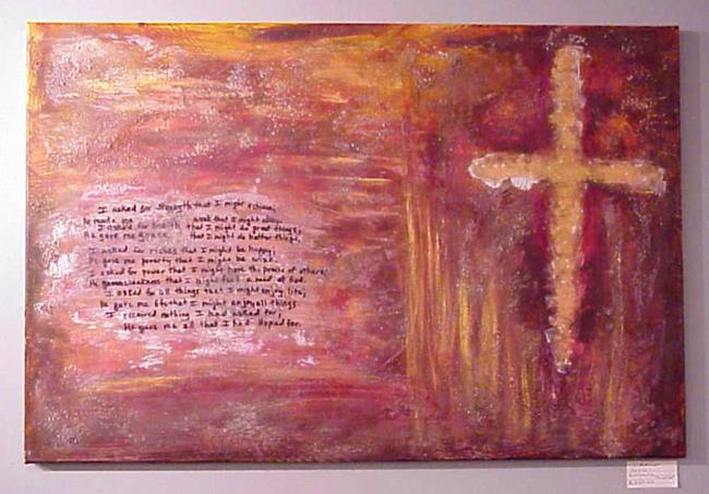 Art: I Asked SOLD by Artist Terri L West