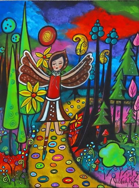Art: She is Spring by Artist Juli Cady Ryan